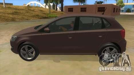 Volkswagen Polo 6R 1.4 для GTA San Andreas вид слева