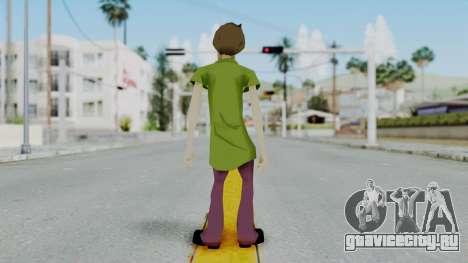 Scooby Doo Salcisha-Shaggy для GTA San Andreas третий скриншот