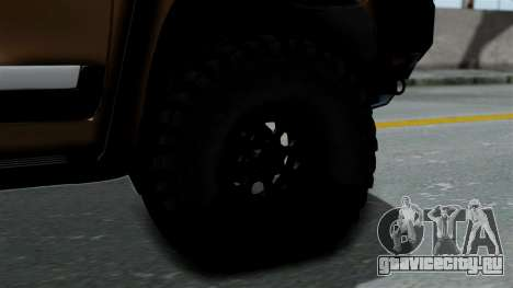 Toyota Land Cruiser 2013 Off-Road для GTA San Andreas вид сзади слева