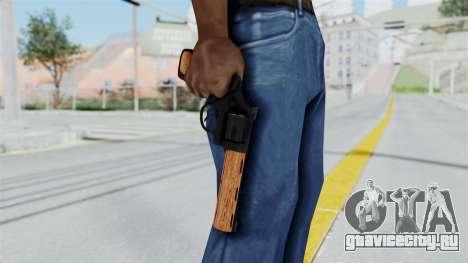 Wood Revolver для GTA San Andreas