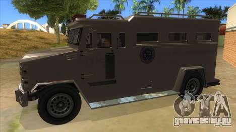 GTA 5 Brute Riot Police для GTA San Andreas вид слева
