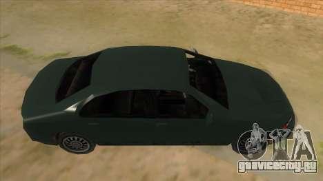 GTA LCS KURUMA для GTA San Andreas вид изнутри