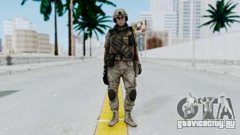 Crysis 2 US Soldier 3 Bodygroup B для GTA San Andreas второй скриншот