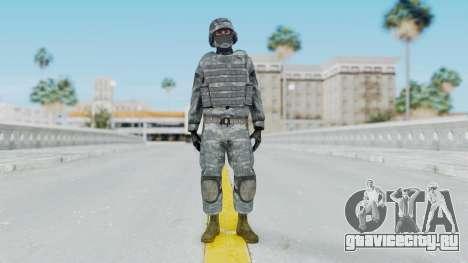 Acu Soldier Balaclava v2 для GTA San Andreas второй скриншот