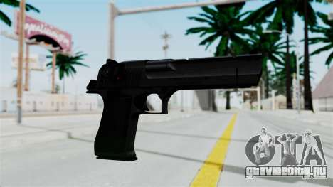 Pouxs Desert Eagle v2 Black для GTA San Andreas