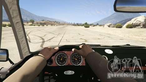 ВАЗ 2106 для GTA 5 вид сзади