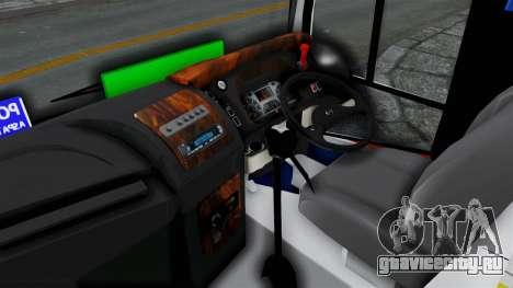 Laksana Legacy Hino AK8 Cangkuang Livery для GTA San Andreas вид сзади слева