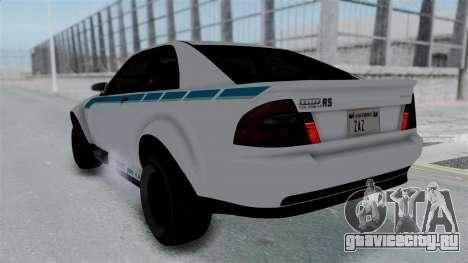 GTA 5 Karin Sultan RS Stock PJ для GTA San Andreas колёса