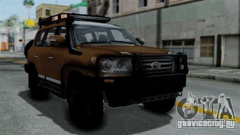 Toyota Land Cruiser 2013 Off-Road для GTA San Andreas