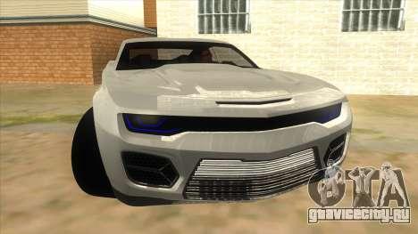 Chevrolet Camaro DOSH tuning MQ для GTA San Andreas вид сзади