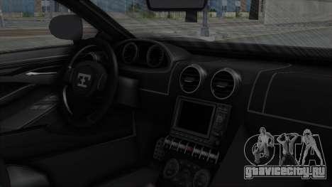 GTA 5 Truffade Adder v2 SA Lights для GTA San Andreas вид справа