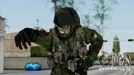 SAJ Maskirna для GTA San Andreas