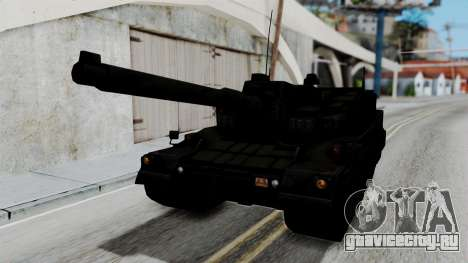 Point Blank Black Panther Woodland для GTA San Andreas