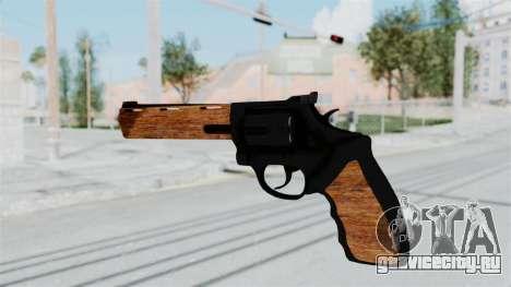 Wood Revolver для GTA San Andreas третий скриншот