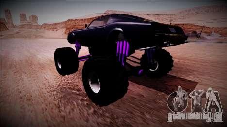 GTA 5 Imponte Phoenix Monster Truck для GTA San Andreas вид слева