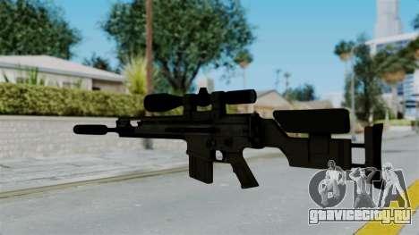 SCAR-20 v2 Supressor для GTA San Andreas второй скриншот