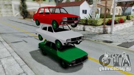 Dacia 1300 для GTA San Andreas вид справа