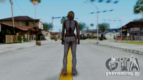 Resident Evil 4 Ultimate HD - Ashley Leather для GTA San Andreas третий скриншот
