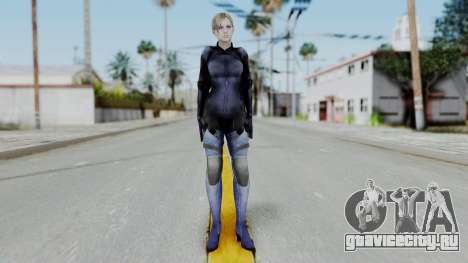 Jill Valentine Battlesuit Closed RE5 для GTA San Andreas второй скриншот