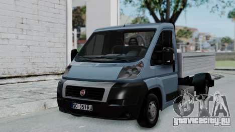 Fiat Ducato Pickup для GTA San Andreas