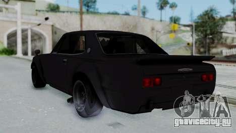 Nissan Skyline 2000GTR Speedhunters Edition для GTA San Andreas вид слева