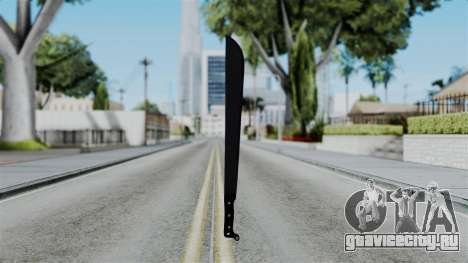 No More Room in Hell - Machete для GTA San Andreas третий скриншот