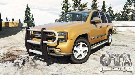 Chevrolet TrailBlazer для GTA 5 вид справа
