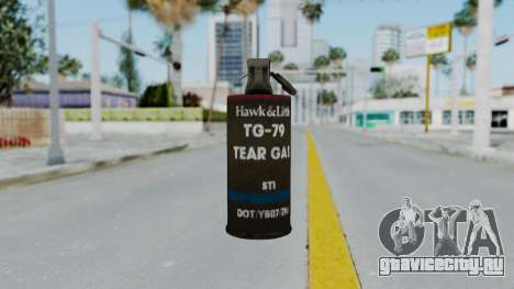 GTA 5 Tear Gas для GTA San Andreas третий скриншот