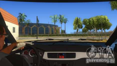 Mitsubishi Pajero Sport Dakar 2015 для GTA San Andreas вид изнутри