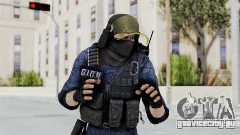 GIGN 2 Masked from CSO2 для GTA San Andreas
