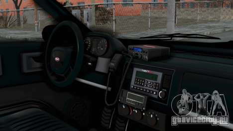 GTA 5 Vapid Stanier II Taxi IVF для GTA San Andreas вид справа