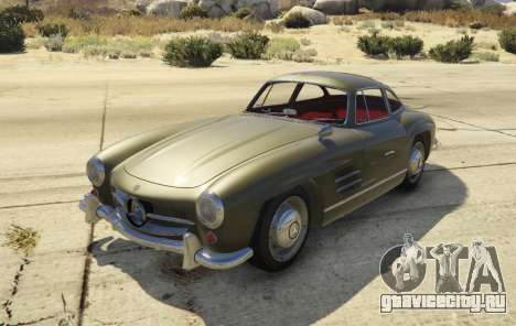 1954 Mercedes-Benz 300 SL Gullwing 1.0 для GTA 5