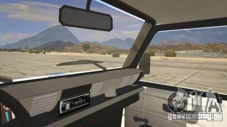 Land Rover Defender для GTA 5 вид сзади справа