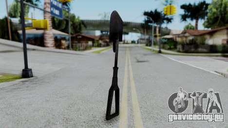 No More Room in Hell - Entrenchment Tool для GTA San Andreas второй скриншот