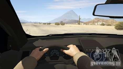 Ford Taurus для GTA 5 вид сзади