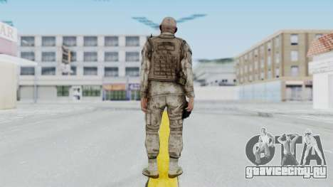 Crysis 2 US Soldier FaceB Bodygroup A для GTA San Andreas третий скриншот