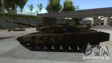 MBT52 Kuma для GTA San Andreas вид слева
