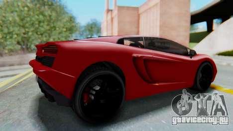 GTA 5 Pegassi Vacca SA Style для GTA San Andreas вид справа