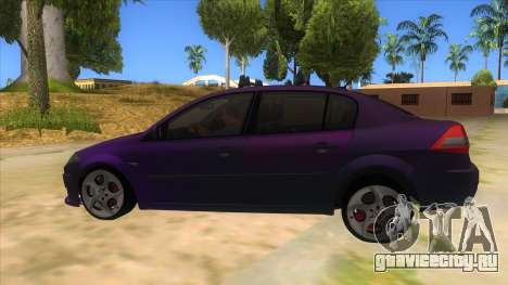 Renault MEGANE 2 для GTA San Andreas вид слева