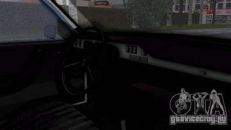 Dacia 1300 Police для GTA San Andreas вид справа