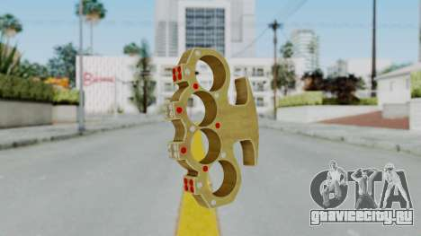 The Pimp Knuckle Dusters from Ill GG Part 2 для GTA San Andreas
