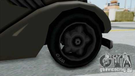Trash-Hustler для GTA San Andreas вид сзади слева