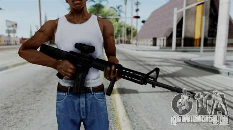 No More Room in Hell - M16A4 ACOG для GTA San Andreas