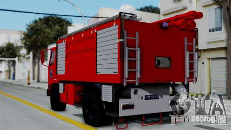 FAP Serbian Fire Truck для GTA San Andreas вид слева