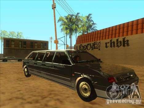 VAZ 2114 9-door для GTA San Andreas вид слева