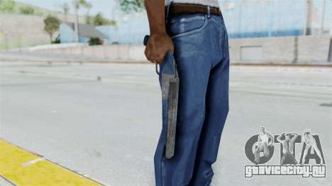 Double Barrel Shotgun LSPD Tint (Lowriders CC) для GTA San Andreas третий скриншот