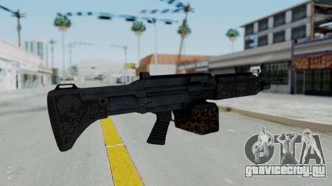 GTA 5 Online Lowriders DLC Combat MG для GTA San Andreas второй скриншот