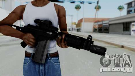 FN FAL DSA для GTA San Andreas третий скриншот
