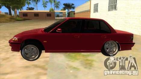 Honda Civic Ef Sedan для GTA San Andreas вид слева