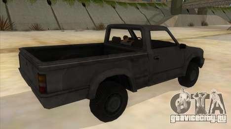 Toyota Hilux Militia для GTA San Andreas вид справа
